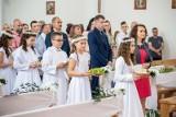 Pierwsza komunia w parafii pw. Matki Boskiej Różańcowej w Białymstoku (ZDJĘCIA)