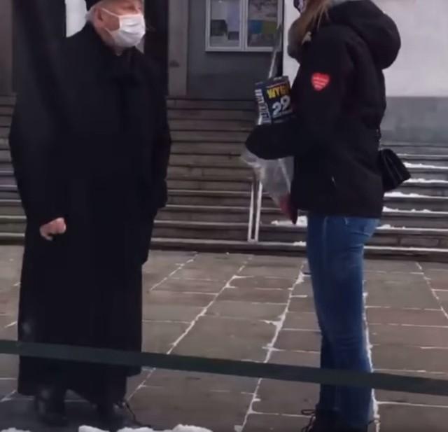 Młoda wolontariuszka WOŚP została przegoniona przez księdza spod kościoła
