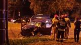 Lublin: Groźny wypadek na rondzie. Na skrzyżowaniu ul. Ruskiej i Podzamcze zderzyły się dwa samochody. Są ranni