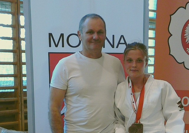 Edyta Łuczaj z UKS Narew Łapy zdobyła brązowy medal