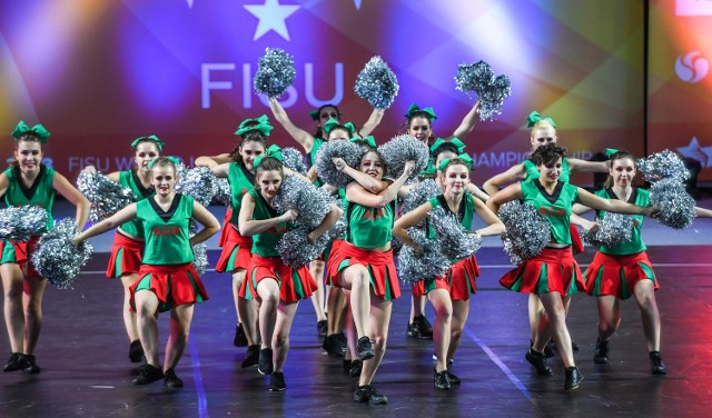 Akademickie Mistrzostwa Świata cheerleaderek w Łodzi