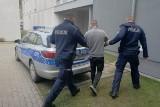 34-latek zatrzymany za zniszczenie mienia, groźby karalne i znieważenie