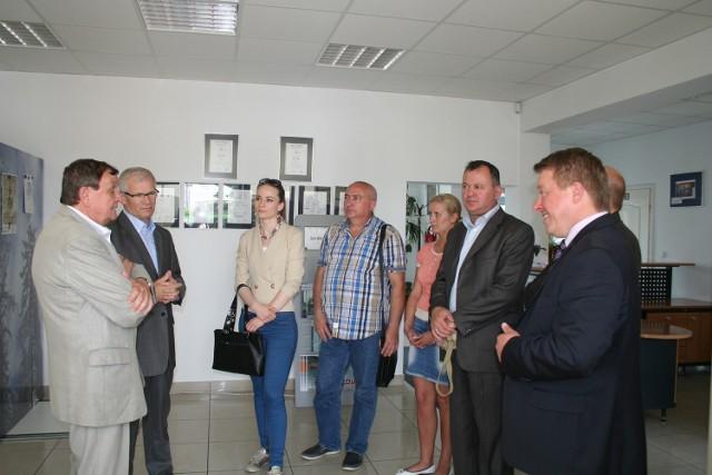 Wicemer Doniecka z wizytą w Suwałkach