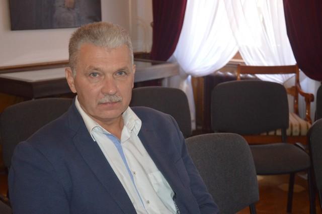 Franciszek Brzyk, prezes Stowarzyszenia Miłośników Ziemi Okocimskiej