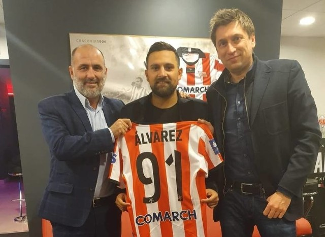 Marcos Alvarez będzie piłkarzem Cracovii od 1 lipca