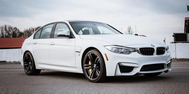 MIEJSCE 1: BMW M3