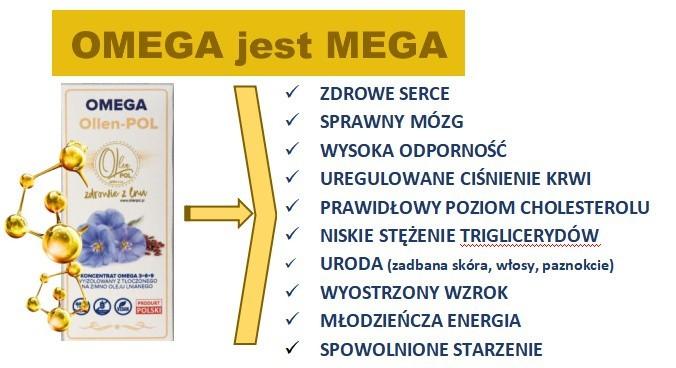 Koncentrat OMEGA 3+6+9 Ollen-POL, czyli produkt żarskiej...