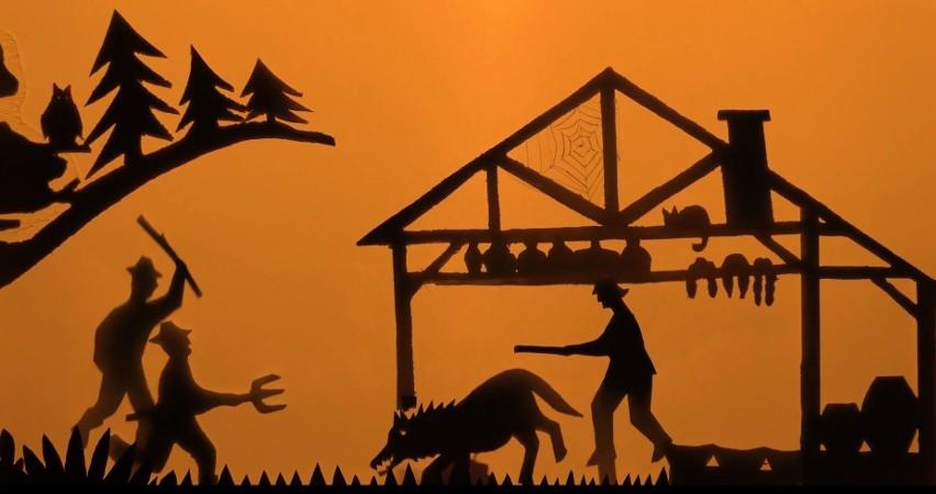 Wilk dokuczył mieszkańcom i dzięki pomysłowi nakarmili go tak, że trudno mu było się poruszać, obili go i przepędzili