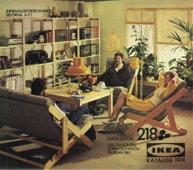 Okładka katalogu z 1974 i zestaw kon tiki produkowany w...