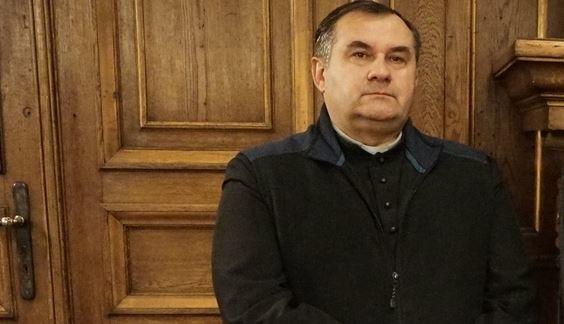 Kapelan Sportowców Archidiecezji Łódzkiej  ksiądz Paweł Miziołek