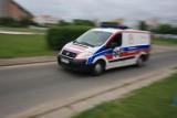W gminie Czersk spłonęła karetka pędząca do chorego