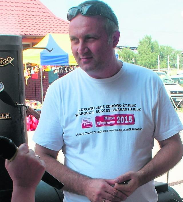 Artur Ławniczak zachęca do kupowania polskiego mięsa