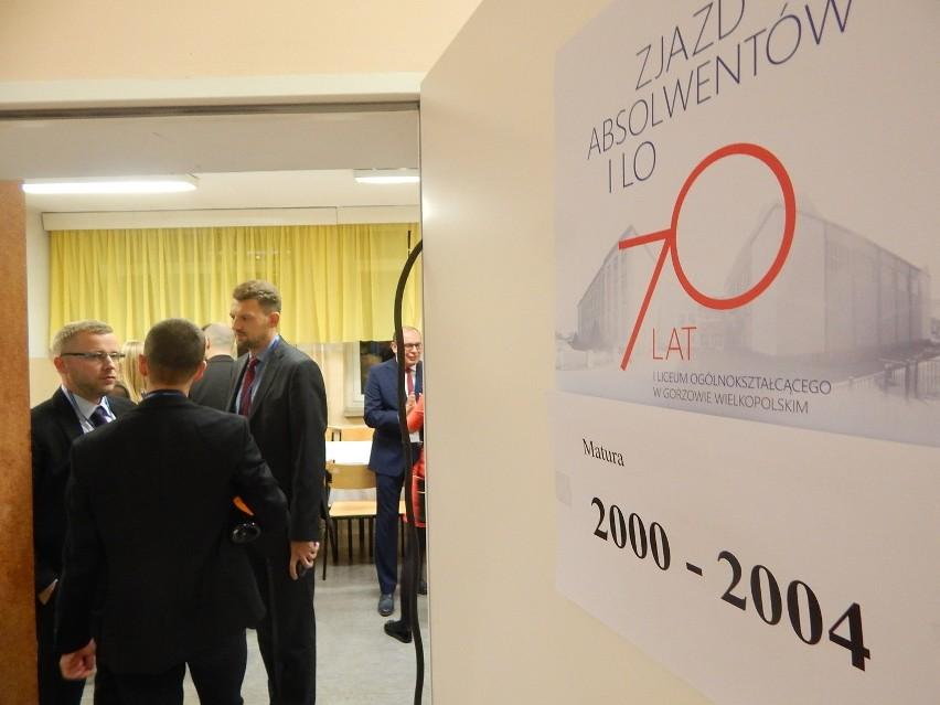 Bal absolwentów I LO w Gorzowie z okazji 70-lecia szkoły.