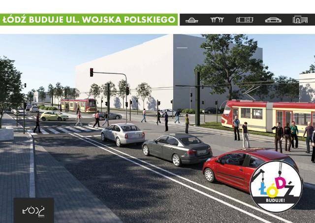 Urząd Miasta Łodzi ogłosił przetarg na przebudowę ulicy Wojska Polskiego. Oferty można składać do 12 lutego. To jedna z większych przyszłorocznych drogowych inwestycji. Pochłonąć ma ok. 114 mln zł, w tym 74 mln zł dofinansowania z Regionalnego Programu Operacyjnego Województwa Łódzkiego na lata 2014-2020.