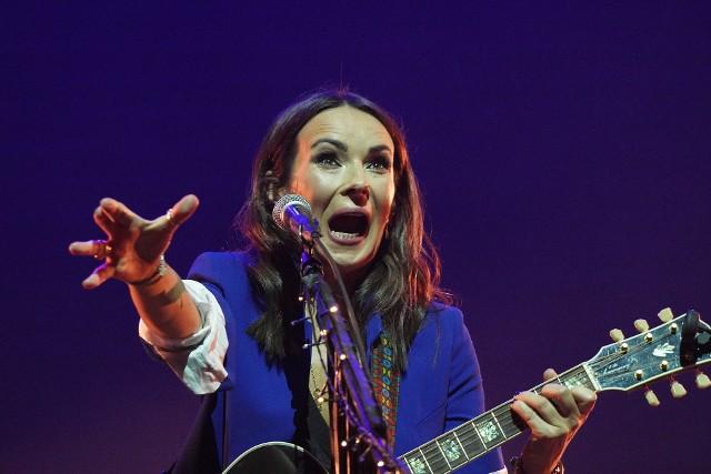 Kasia Kowalska zaśpiewała w Białymstoku dla dzieci z dystrofią mięśniową