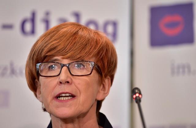 Minister Rafalska, we wtorek zapowiedziała wprowadzenie podatku dla najbogatszych