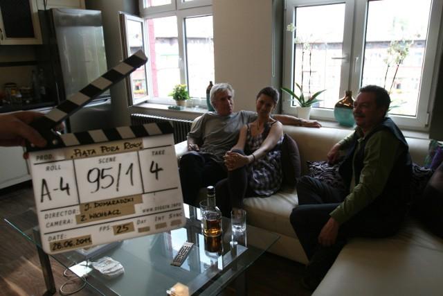 Plan zdjęciowy do filmu Piąta strona roku