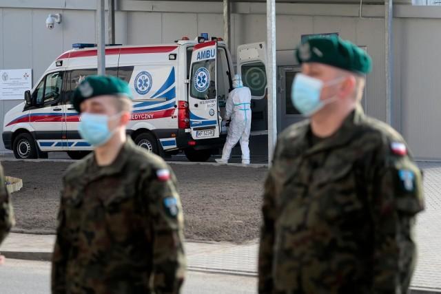02.04.2021 warszawa wim dziekuje terytorialsom za pomocn/z fot. adam jankowski / polska press