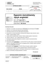 Egzamin ósmoklasisty ANGIELSKI 2021. ODPOWIEDZI, ARKUSZE CKE. Co było na egzaminie ósmoklasisty z j. angielskiego? 27.05