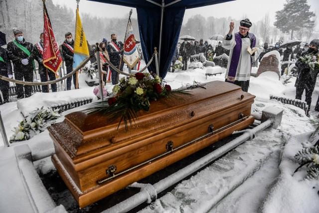 Pogrzeb byłego rektora gdańskiego AWFiS-u profesora Wojciecha Przybylskiego
