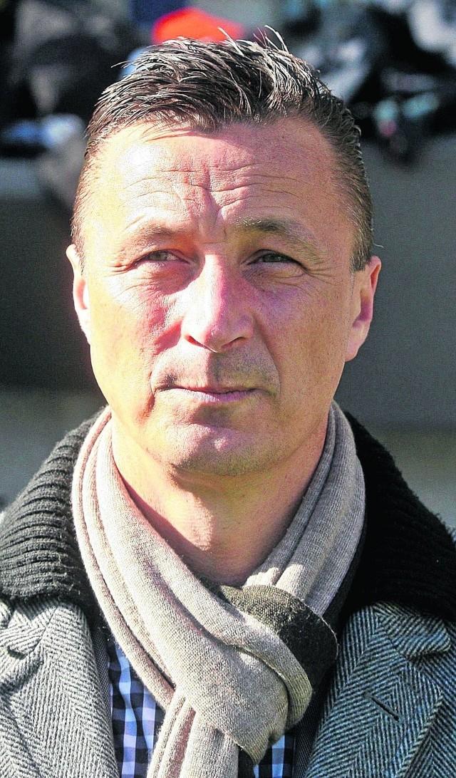 Trener tyszan Tomasz Hajto