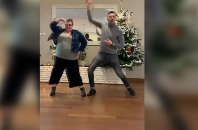"""""""Domi & Kris Dance"""" w wykonaniu Krzysztofa Ibisza i Dominiki Gwit."""