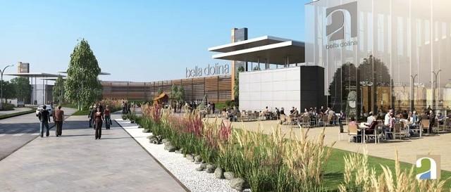 Centrum handlowe Bella Dolina miało być gotowe na koniec przyszłego roku.