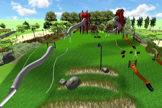 Większa strefa rekreacji w Parku na Zdrowiu