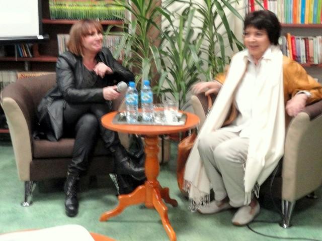 Spotkanie w formie wywiadu z gwiazdą prowadziła Kamila Drecka.