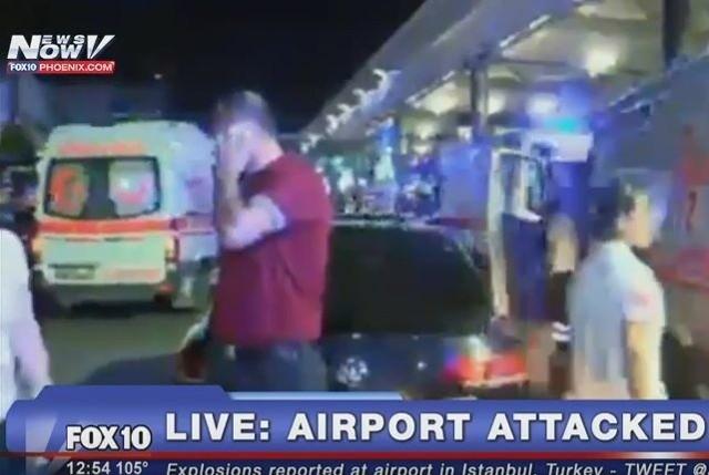 Zamach terrorystyczny w Stambule YOUTUBE