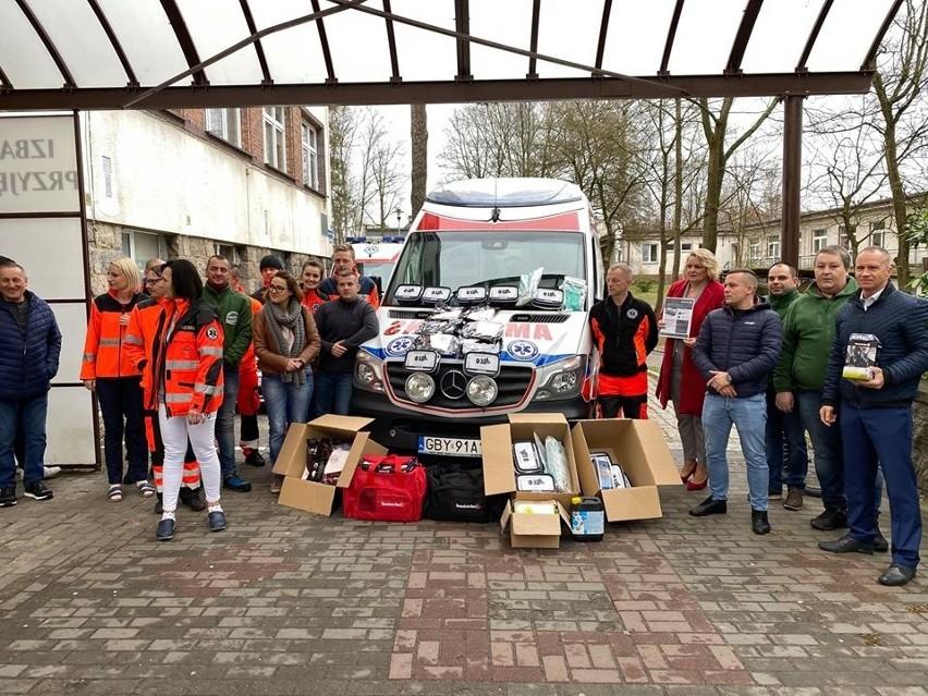 Automobilklub z Bytowa wsparł bytowski szpital.