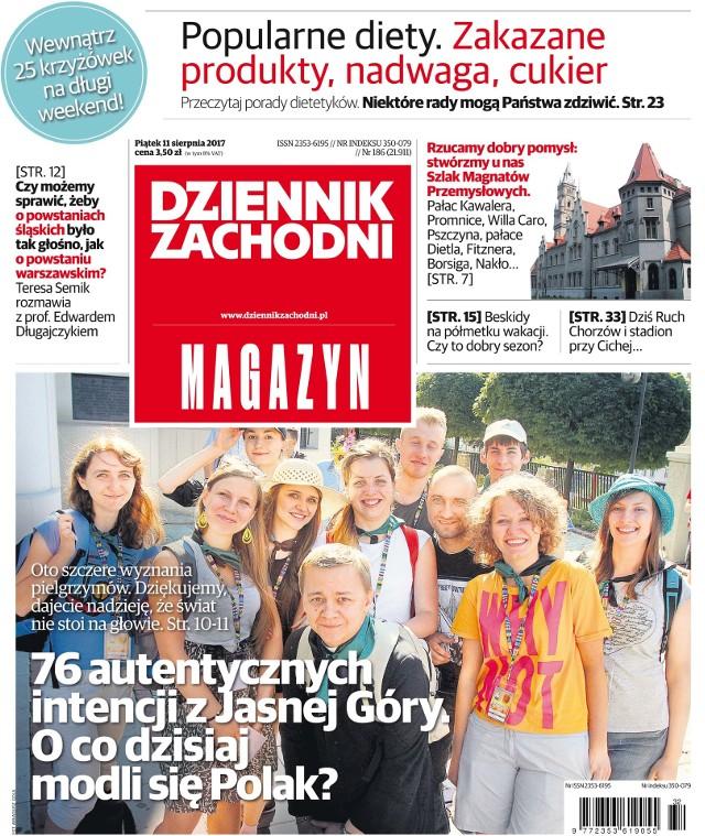 Okładki alternatywne Dziennika Zachodniego MAGAZYN 11.08.2017