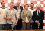 Hanna Zdanowska doceniła tytuł mistrza Polski Ocmer UŁ ŁSTW [ZDJĘCIA]