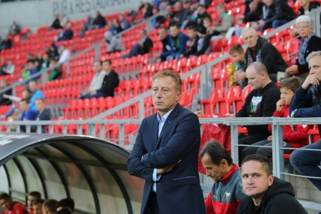 Trener GKS Tychy Ryszard Tarasiewicz.