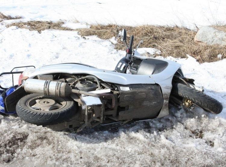 40-letnia motorowerzystka po wypadku na trasie Czerwonki –...