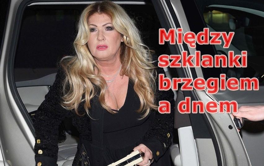 Beata Kozidrak. jeździła na podwójnym gazie. Internet nie ma...