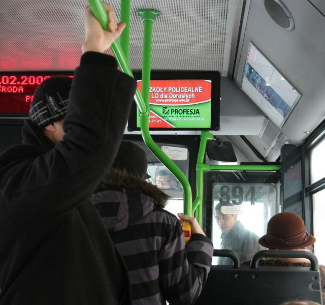 KPKM przewiózł w 2008 roku prawie 39 mln osób – adresatów reklam. Monitorów nie znajdziemy w autobusach zakupionych z dotacji UE
