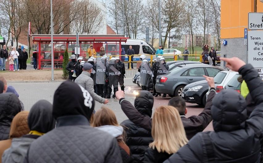 Zamieszki w Białymstoku. Marsz po śmierci Pawła Klima