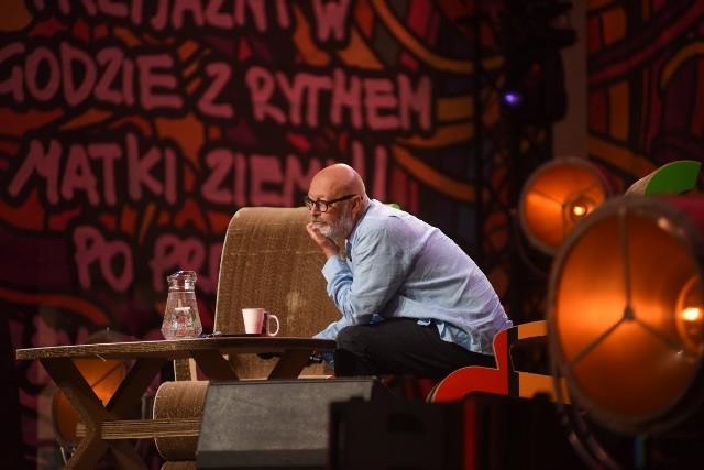 """Wojciech Smarzowski był gościem Akademii Sztuk Przepięknych na Pol'and""""Rock 2019."""