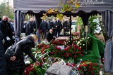 Pogrzeb Andrzeja Bręczewskiego, prezesa spółki Modertrans Poznań ZDJĘCIA