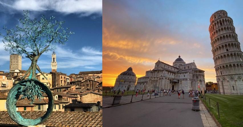 Czytelniczka z Zielonej Góry odwiedziła w tym roku Toskanię....