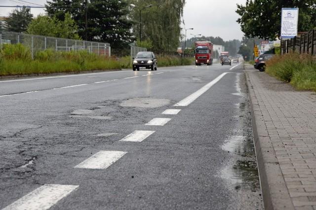 Obecnie ulica Martyniaków nie jest w najlepszym stanie.
