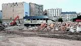 Rozbiórka hotelu Centrum. Znika ostatnia część