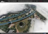 Kraków. Zaplanowali park pod nową łącznicą kolejową na Zabłociu [WIZUALIZACJE]