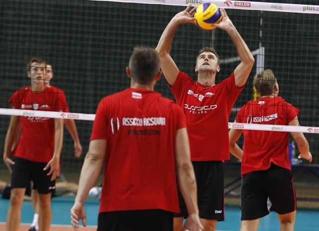 Pierwszy trening Asseco ResoviiPierwszy trening Asseco Resovii przed sezonem 2013/14