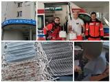 Nowy Sącz. Grupa ratowników szyje maseczki dla medyków. Teraz ruszają z produkcją przyłbic [ZDJĘCIA]