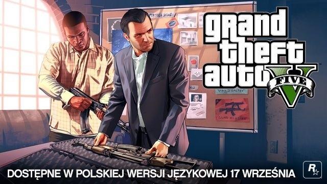 Grand Theft Auto VGrand Theft Auto V ukaże się w polskiej, kinowej wersji językowej