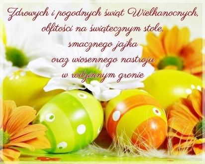 W Mega Życzenia i kartki świąteczne na Wielkanoc. Zabawne i piękne NT44