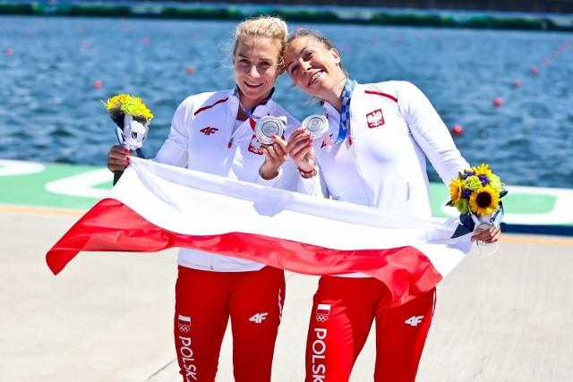 Karolina Naja i Anna Puławska srebrnymi medalistkami igrzysk w Tokio.