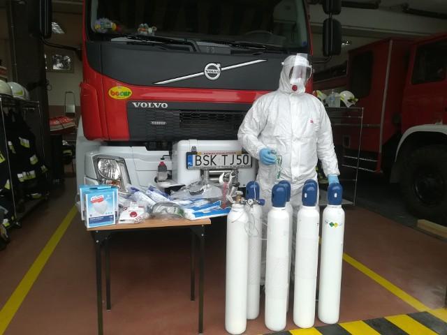 Strażacy z OSP Suchowola będą ratować mieszkańców zarażonych koronawirusem